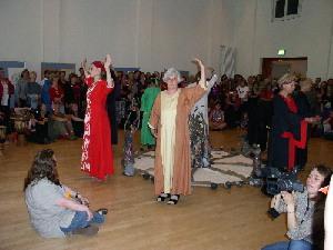 Jahresrad-Tanz