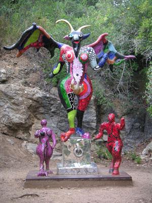 Niki de Saint Phalle Teufel